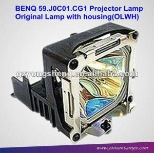 Para 5 9. j0c0 1. cg1 lámpara del proyector benq para pb7700, pe7700