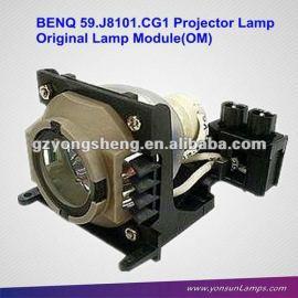 Para benq 5 9. j810 1. cg1 proyector de la lámpara para pb8250, pb8260, pe8265