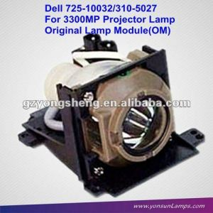 Para dell 725-10032 lámpara del proyector, dell 3300mp bombilla del proyector