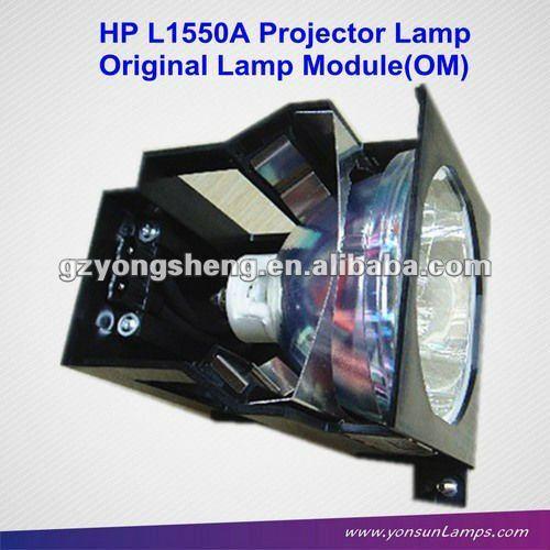 Ursprünglichen nackten Lampe/lampe mit gehäuse l1550a für hp projektor mp1600
