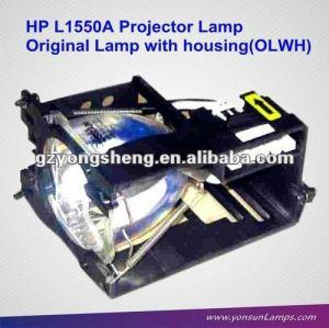 Ursprünglichen nackten lampe/lampe mit gehäuse für hp projektor mp1600 l1550a