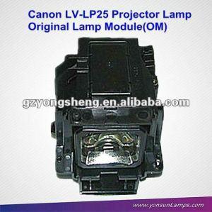 La lámpara del proyector oem lv-lp25 para canon lv-x5/lámpara del proyector original del módulo