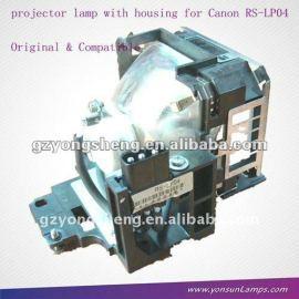 La lámpara del proyector rs-lp04 para canon xeed x700