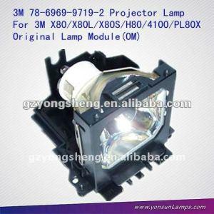 La lámpara del proyector 78-6969-9719-2 para proyector x80l/mp4100/h80/x80
