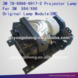 La lámpara del proyector para 78-6966-9917-2 x64/x66