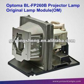 La lámpara del proyector para bl-fp260b ep773/tx773
