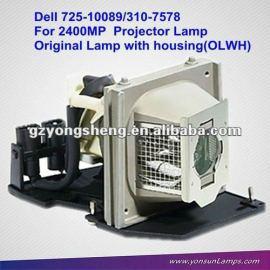 Lámpara del proyector original 310-7578/725-10089 para dell 2400mp