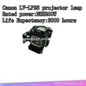 Projektor lampe für canon lv-lp26 mit hervorragender qualität