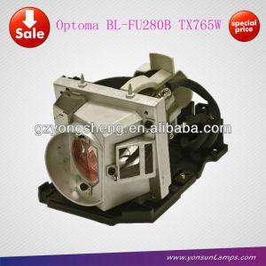 Optoma bl-fu280b pojector original de la lámpara para proyector tx765w