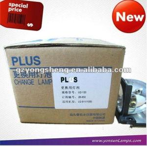 El mercurio de la lámpara para 28-650 u2-1080 plus de la lámpara del proyector