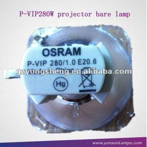 Lámpara original desnudo para osram p-vip280w 1.0 e20.6 lámpara del proyector