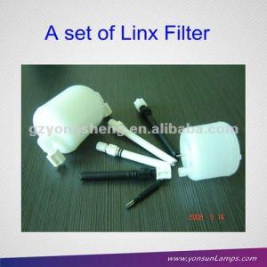 100% nuevo de la marca del filtro para linx 6200/4800/4900/6800/6900 impresoras de inyección de tinta conjunto con un rendimiento estable