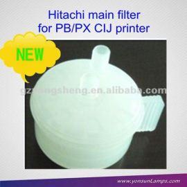 Nueva marca de plástico de chorro de tinta de filtro para hitachi hx/kx/px/pb cij de la impresora con material plástico