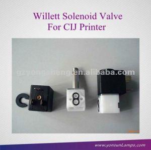Solenoide de la válvula 521-0001-173/521-0001-174/521-0001-175 willett para la serie de la válvula de inyección de tinta de la impresora