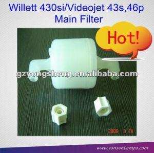 El filtro principal para 500-0047-132 willett cij de inyección de tinta de la impresora con calidad excllent