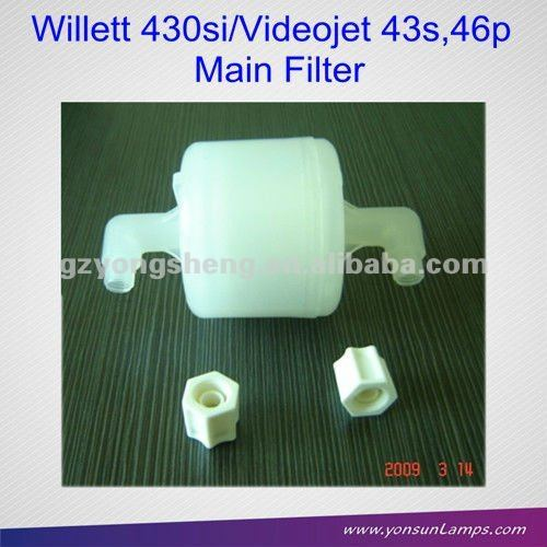 El filtro principal 500-0047-132 para videojet/willett cij de inyección de tinta de la impresora con una excelente calidad