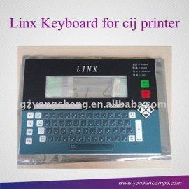 Fa72142/fa74057 teclado para linx 6200/4800/4900/6800/6900 impresoras de inyección de tinta de inyección de tinta para la industria pringting bien con el trabajo