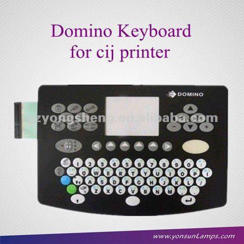 Domino 37726 teclado para domino a100/a200 impresoras de inyección de tinta con una excelente calidad