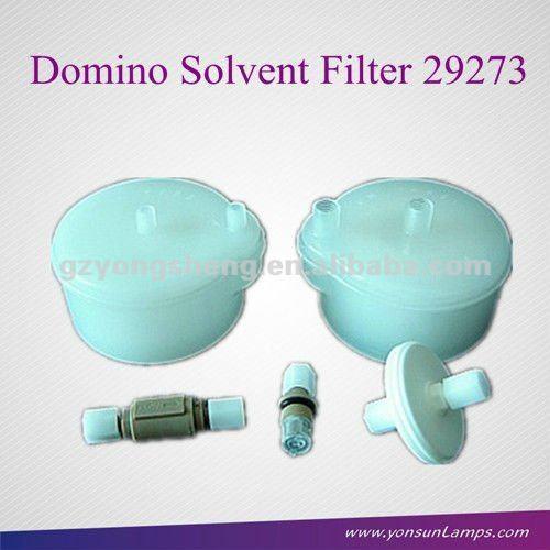 dominó disolvente filtro 29273 cij para la codificación de inyección de tinta de la impresora con material plástico