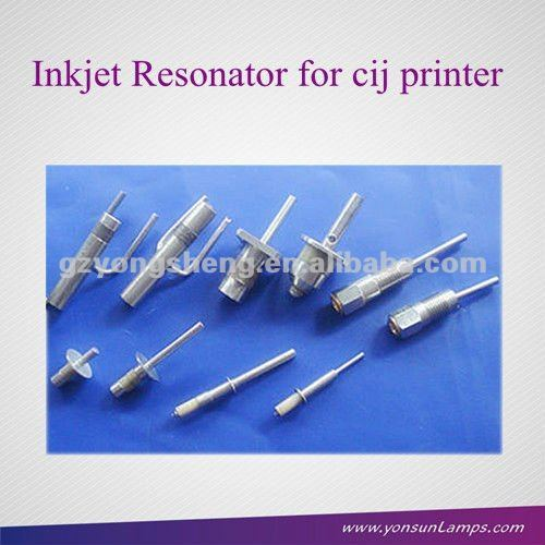Durable resonador de inyección de tinta para videojet, imaje, domino, linx, willett, hitachi