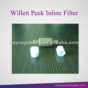 Para la marca nuevo videojet/willett peek en línea de filtro de metal 500-0047-134 con material durable