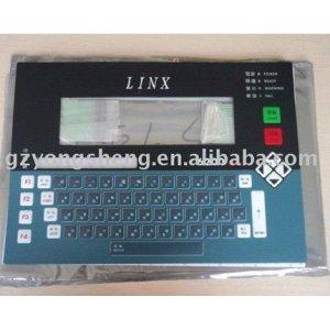 linxkeyboard cij para la codificación de inyección de tinta de la impresora con una excelente calidad