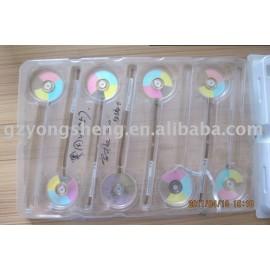 Para colorwheel optoma ep757 proyector, piezas para el proyector