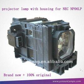 Uhp330/264w 1.3 e19.9 lámpara de proyector nec np06lp