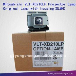 La lampada del proiettore per mitsubishi vlt-xd210lp sd210/xd210/xd211u