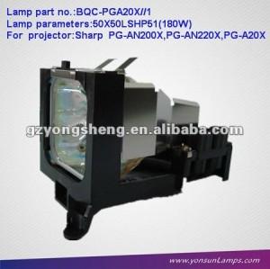 дампа для проектора/ртутные лампы an-a20lp/bqc-pga201 с корпусом для pg-a20x проектор