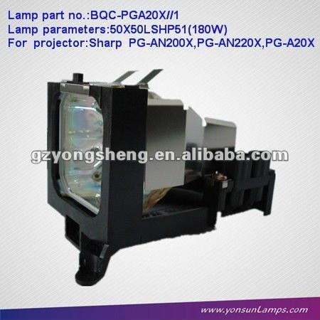 مصباح بروجيكتور / مصابيح الزئبق AN-A20LP/BQC-PGA20X / / 1 مع الإسكان للPG-A20X العرض