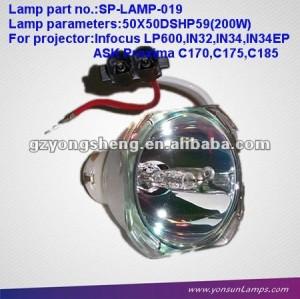 INFOCUS ORIGINAL SP-LAMP-019 200W مصباح بروجيكتور صالحة للLP600/IN32/IN34/IN36