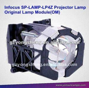 100٪ نوعية مضمون مصباح بروجيكتور SP-مصباح LP4Z لLP330/LP335 تحت المجهر