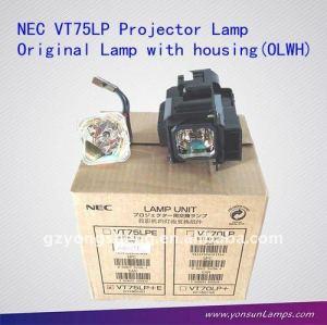 مصباح ضوئي nec vt75lp، نسة الأصلي 180w vt75lp لمصباح