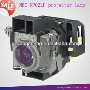 nec مصباح ضوئي nec np02lp lampara دي proyector