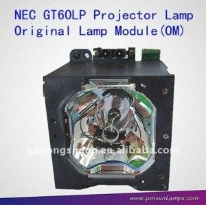 مصباح ضوئي nec gt60lp gt5000، gt6000، gt6000r nec البروجيكتور