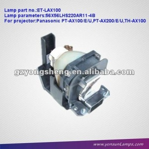 PT-AX100/AX200를 위한 Panasonic ET-LAX100 영사기 lamps&projector 전구