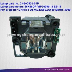 كريستي وحدة مصباح ضوئي 03-900520-01P ل60/DW العرض +60 / DS DS 30