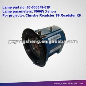 تعزيز المصابيح ضوئي 03-000678-01P لجهاز العرض كريستي