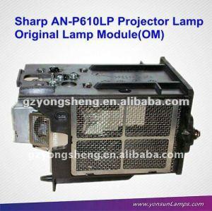 مصباح بروجيكتور العارية الأصلي AN-P610LP لXG-P610X