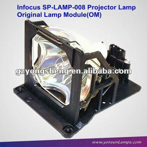 مصباح بروجيكتور الأصلي الوحدة SP-LAMP-008 لLP790HB تحت المجهر