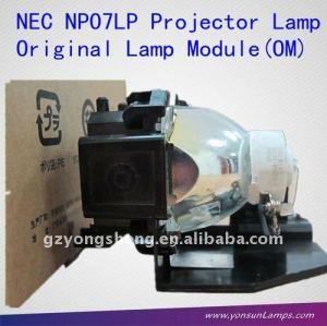 وحدة المصباح الأصلي( om) np07lp مصباح ضوئي لnec