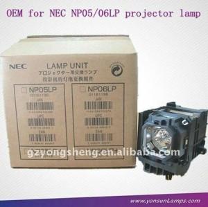 مصباح ضوئي nec np05lp، lampadas الفقرة أجهزة العرض nec