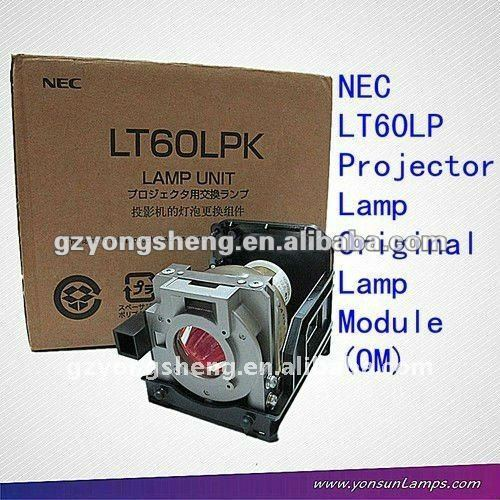 nec مصباح بروجيكتور lt60lp الأصلية أو استبدال