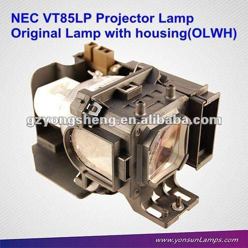 nec مصباح بروجيكتور vt85lp، nec مصباح ضوئي الأصلي