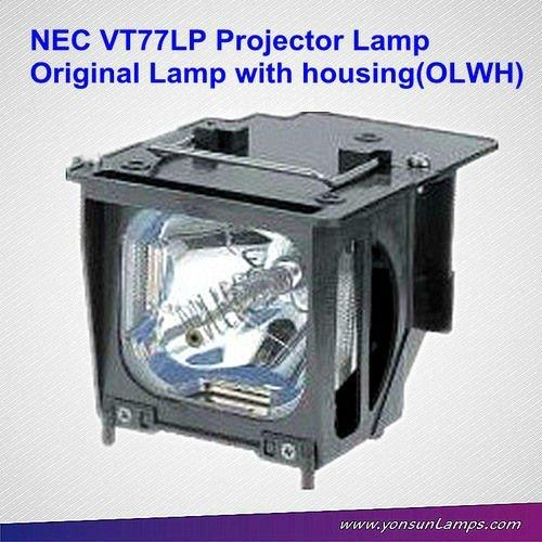 oem الأصلي مصباح بروجيكتور nec vt77lp للتعديلتناسب vt770، vt780