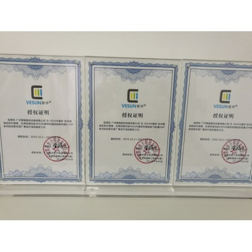 PVIP Certificate of Authorization