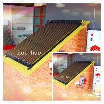 villa solar hot water heating system
