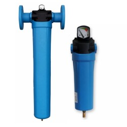Particulate Dust Compressed Air Filter with automatic drain