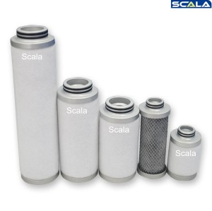 Replaceable Ultrafilter Coalescing Precise Air Filter Element with Original Function